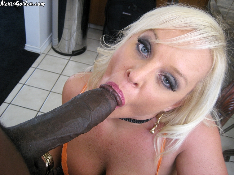 Milf cougar alexis golden interracial